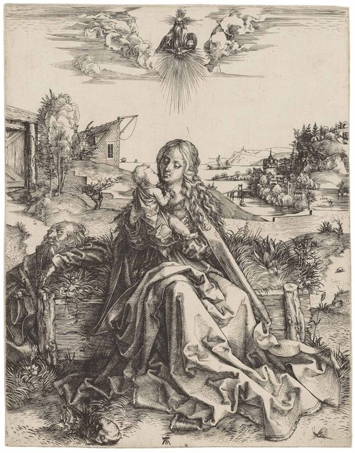 , 'The Holy Family with the Butterfly (B. 44; M., Holl. 142; S.M.S. 2),' ca. 1495, Christie's Old Masters