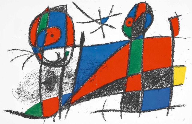 Joan Miró, 'Untitled (Lithographe II, M.1042)', 1975, Martin Lawrence Galleries