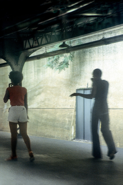 , 'A Train, Platform Shepherd Ave. Station, Brooklyn,' 1982, CHRISTOPHE GUYE GALERIE