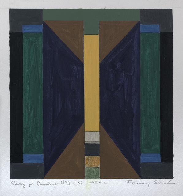 , 'Study for Painting No. 3 (10), 2006,' 2006, Sicardi | Ayers | Bacino