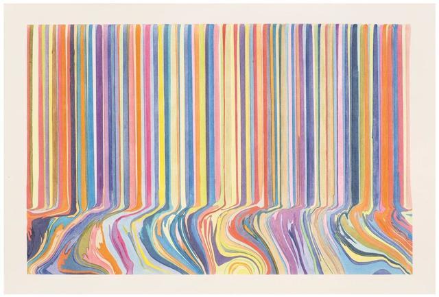 , 'Colourcade Buzz: Double Repeat on Orange Ghost,' 2017, Alan Cristea Gallery