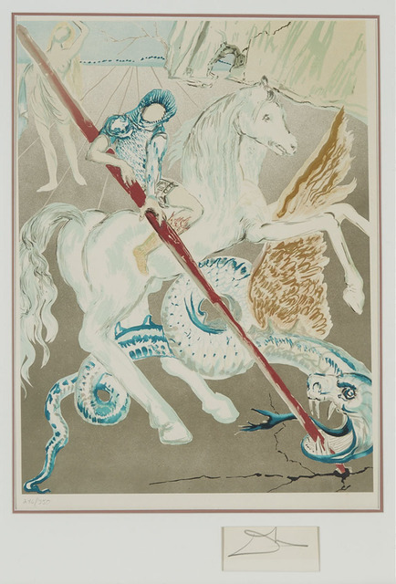 Salvador Dalí, 'The Lance Of Chivalry (St. George) (From Retrospective)', 1978, Waddington's