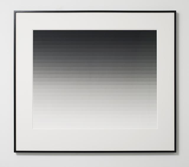 , 'Photogram 3 (Horizontal),' 2013, Ingleby Gallery
