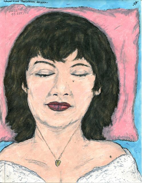 , 'Josephine Pawlusiak Asleep,' 1996, FRED.GIAMPIETRO Gallery