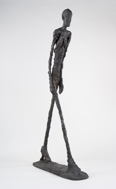 , 'Walking Man I (Homme qui marche I),' 1960, Guggenheim Museum