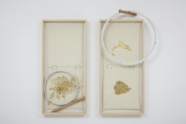 , 'Díptico / Diptych,' 2013, Galeria Millan