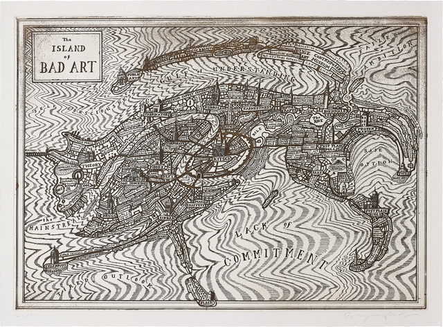 Grayson Perry, 'The Island of Bad Art', 2013, Phillips