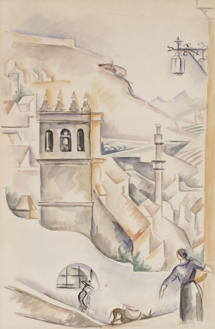 , 'Ronda,' 1923, Artur Ramon Art