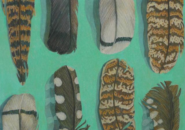 , 'Feathers,' 2015, Rebecca Hossack Art Gallery