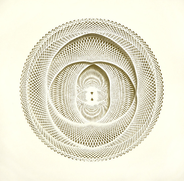Tahiti Pehrson, 'Basin', 2013, Drawing, Collage or other Work on Paper, Hand cut paper, K. Imperial Fine Art