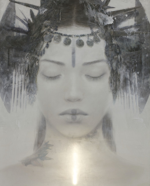 , 'Goddesses of Nibiru XII,' 2014, Miguel Marcos