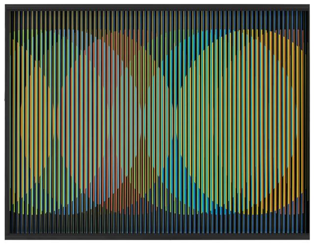 Carlos Cruz-Diez, 'Cromointerferencia Espacial 14', 1964-2015, Marion Gallery
