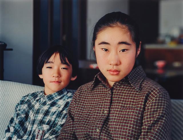 Thomas Struth, 'Go und Ayaka Okutsu, Yamaguchi', 1996, Photography, Chromogenic print, Diasec mounted, Phillips