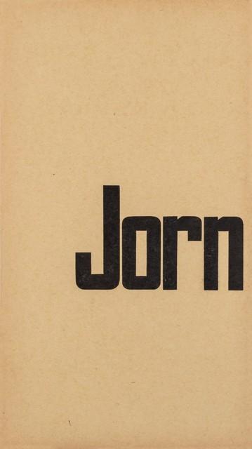 Asger Jorn, 'Jorn', 1958, Finarte
