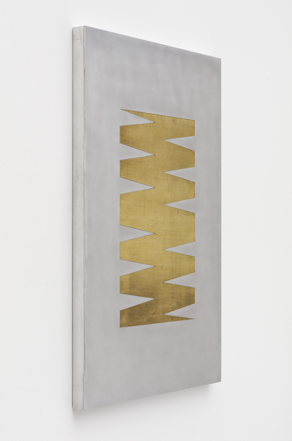 Zak Kitnick, '24 Month Calendar 2 (Mill Brass)', 2020, Other, Aluminum, brass, and hardware with aluminum and brass checkers, NINO MIER GALLERY