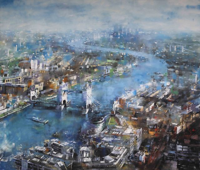 Mark Lague, 'Over Thames', 2019, SmithKlein Gallery