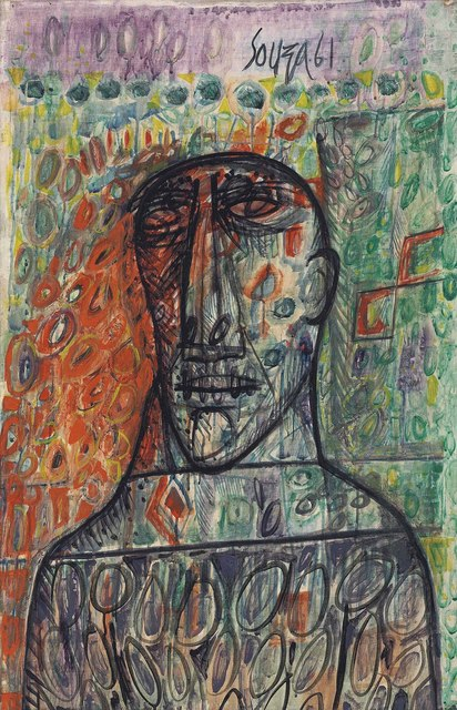 Francis Newton Souza, 'Untitled (Head)', 1961, Christie's South Asian + Chinese