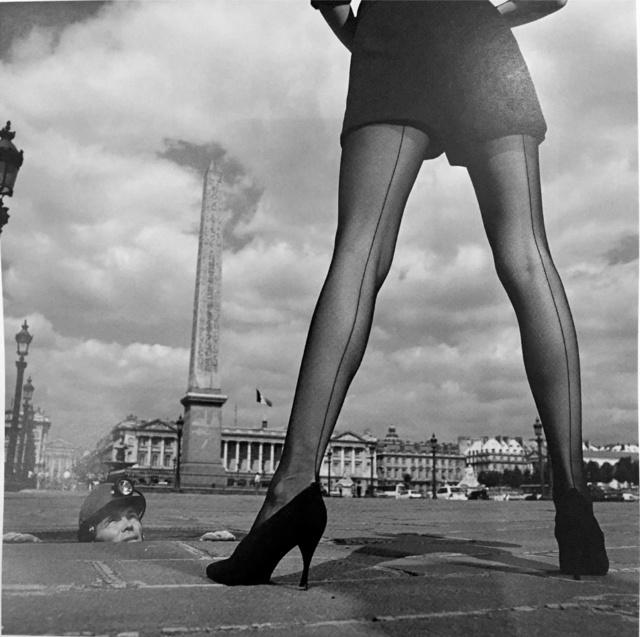 , 'Céline hosiery, Place de la Concorde,' 1990, Galerie Dumonteil