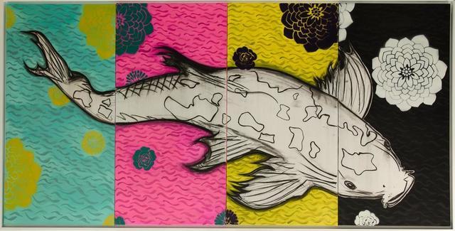 , 'Koi in Four Seasons,' 2016, David Benrimon Fine Art