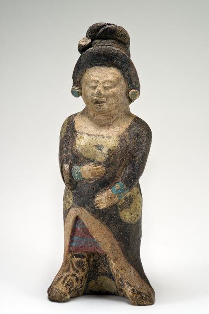 , 'Figurine d'une dame noble (Figurine of a noblewoman),' 600-900 AD, Musée du quai Branly