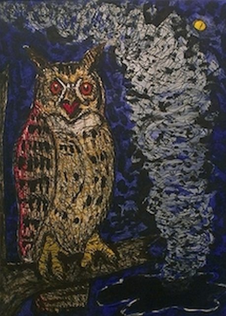 , 'Horned Owl,' 2014, William Campbell Contemporary Art, Inc.