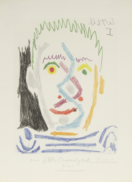 , 'Tete d'Homme Autete d'Homme au Maillot Raye,' 1964, Heather James Fine Art