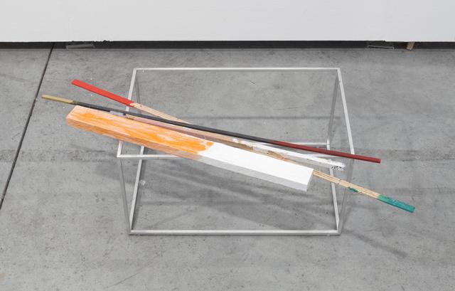 , 'VOLUME d'AIr avec Barre rose, 'Solo & Sculpture',' 2011-2017, Galerie nächst St. Stephan Rosemarie Schwarzwälder