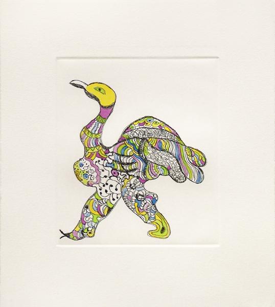 , 'Ostrich,' ca. 1996, Nohra Haime Gallery