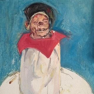 , 'Dawn's Clown,' 2008, Betty Cuningham