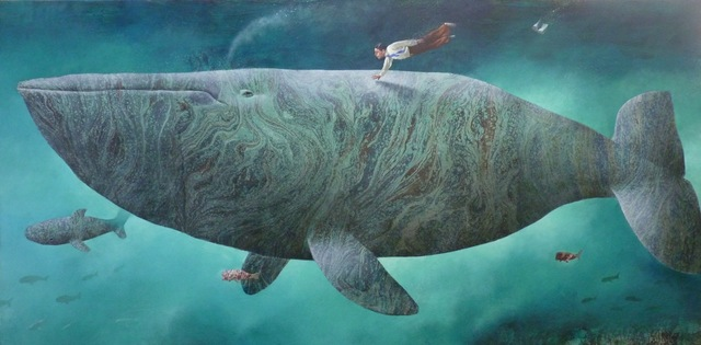 , 'The Belly Whale,' 2017, Rebecca Hossack Art Gallery