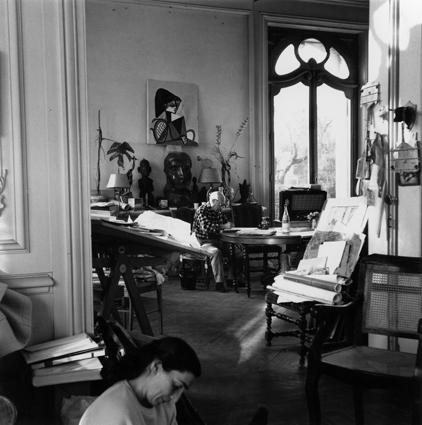 Lucien Clergue, 'Picasso et Jacqueline (Cannes 1956)', 1956, Beck & Eggeling