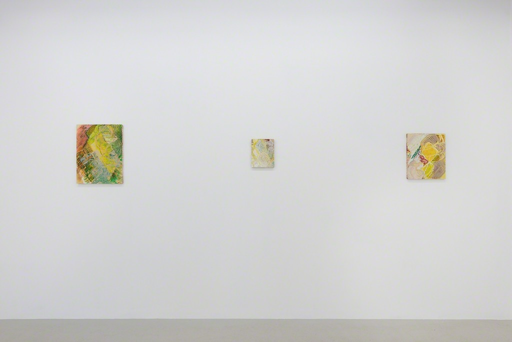Installation view, Sherman Sam 'Together We're Heavy' at Annka Kultys Gallery, London, 2016 Photo: Annka Kultys Gallery (Damian Griffiths)