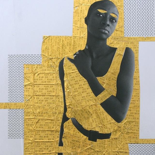 , 'Bintou #2, Or serie,' 2013, Galerie Cécile Fakhoury - Abidjan
