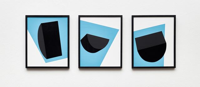 , 'Colour & Form V, VI, VII (Triptych),' 2017, Stevenson