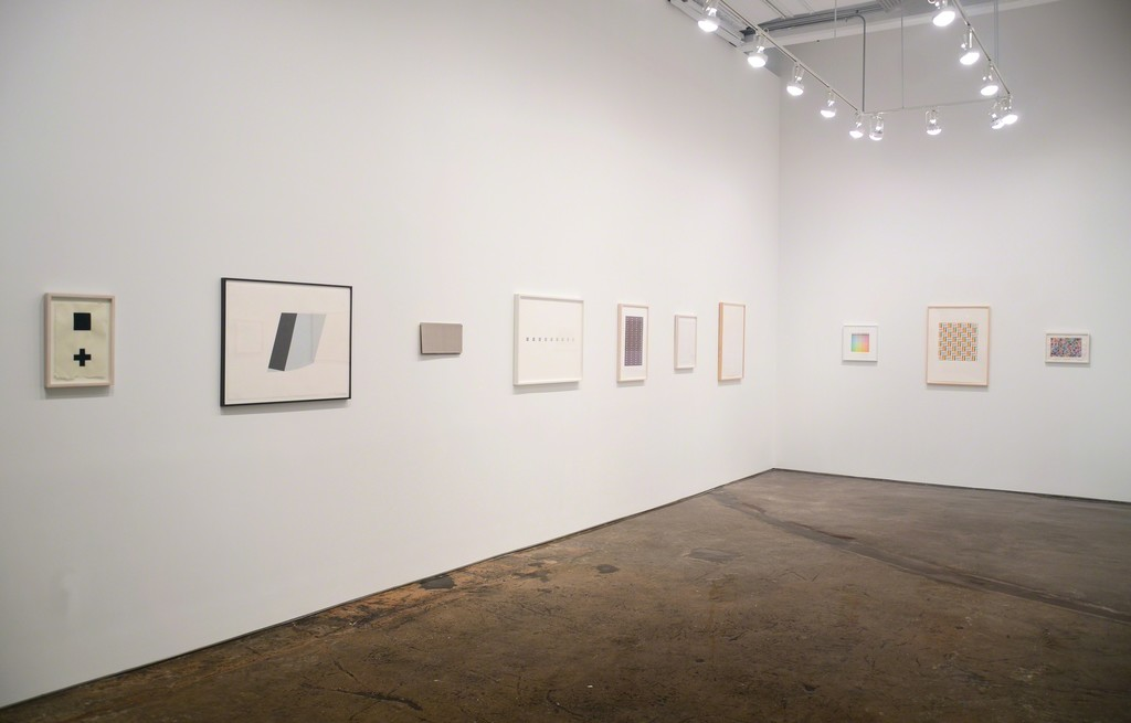 Installation view of On Paper, MINUS SPACE, Brooklyn, NY, 2016