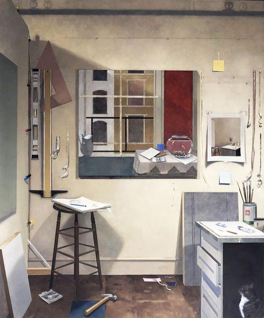 Barbara Kassel, 'Painting Ping Pong', 2012, Clark Gallery