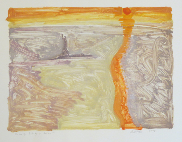 , 'Statue of Liberty + Sunset,' 1998, Robert Brown Gallery