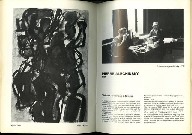 Pierre Alechinsky, 'ARIS-KOBENHAVN CoBrA Catalog, Uniquely Hand Signed by 10 Artists ', 1981, Alpha 137 Gallery