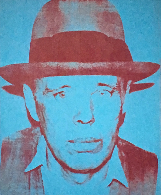 Andy Warhol, 'Warhol Joseph Beuys announcement', 1980, Lot 180