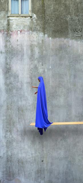 , 'Blue Trampoline,' 2016, Mariane Ibrahim Gallery