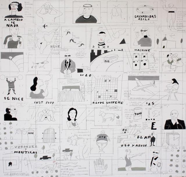 , 'Verdades y Mentiras,' 2016, Galería BAT Alberto Cornejo
