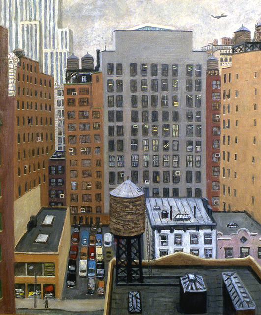 , '38th Street South,' 1987, Tibor de Nagy