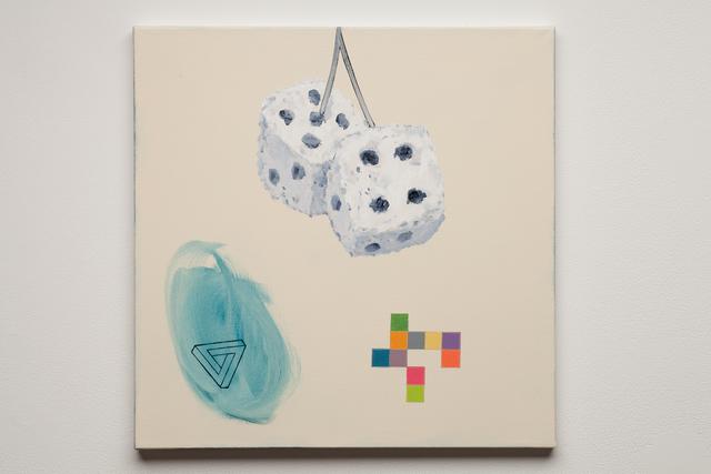 , 'Fuzzy Dice,' 2015, Simone DeSousa Gallery