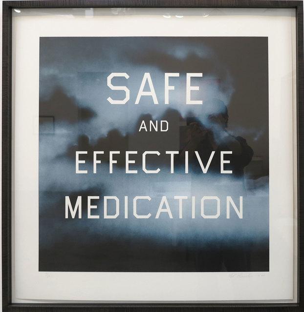 , 'Safe and Effective Medication,' 2001, IKON Ltd. Contemporary Art