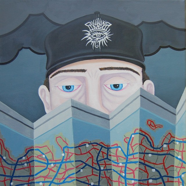 , 'No Direction Home,' 2019, 532 Gallery Thomas Jaeckel