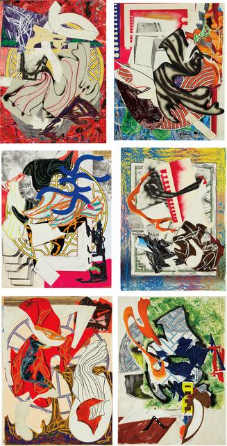 Frank Stella, 'Waves II: six prints', 1985-1989, Phillips