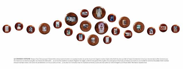 , 'LA GRANDE HISTOIRE.,' 2016, LouiSimone Guirandou Gallery