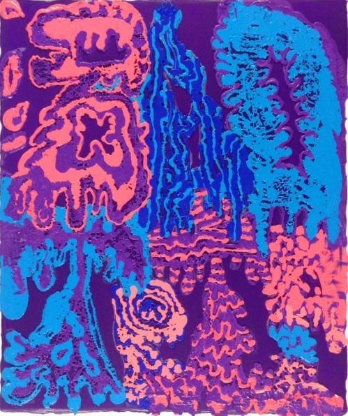 , 'Purple Squeeze (Bad Trip),' 2015, Circuit12
