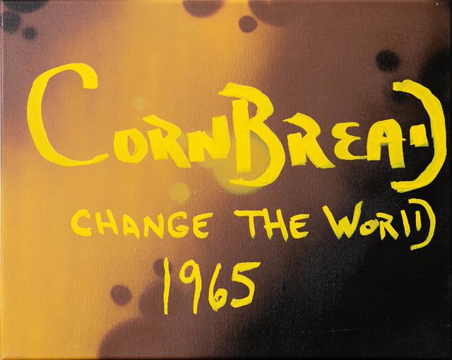 Cornbread, 'Cornbread Change The World Canvas', 2020, Painting, Acrylic paint on canvas, Paradigm Gallery + Studio