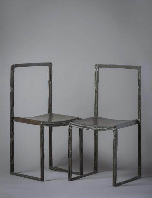 , 'Chairs,' ca. 1990, Lebreton